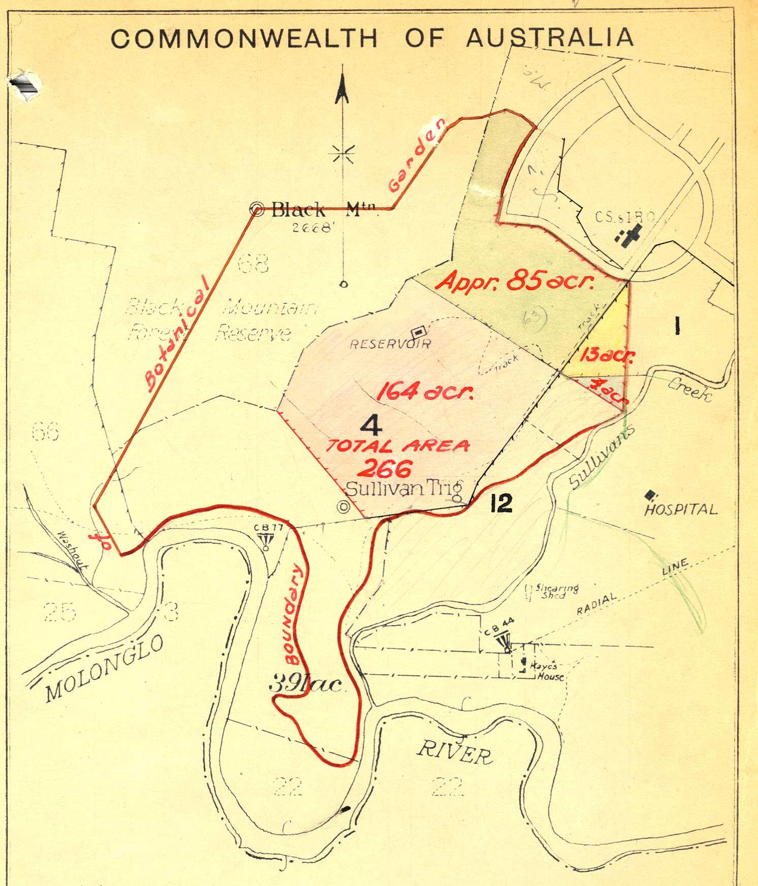 Australia Canberra Map.Maps Of The Australian National Botanic Gardens