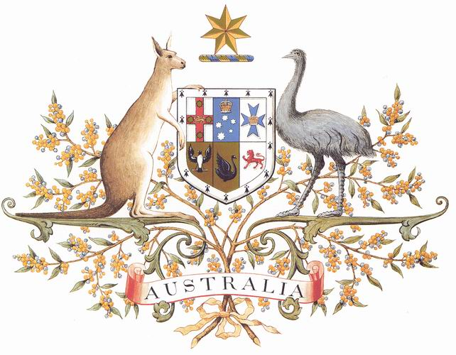 Commonwealth Coat of Arms - Australia