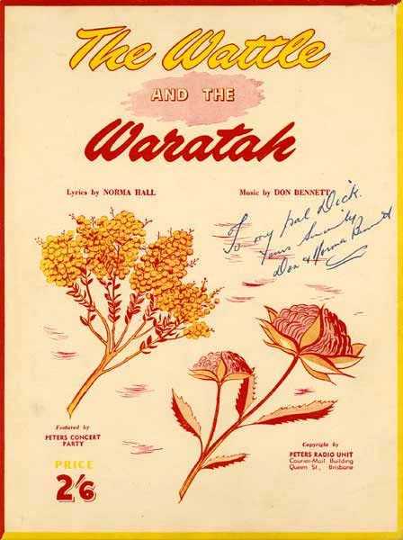 The Wattle and the Waratah